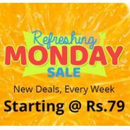 Get Shopclues Refreshing Monday Sale - Start Rs.79 at Rs 79 | Shopclues Offer