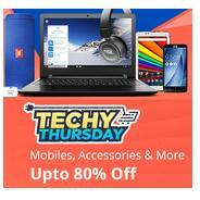 Get Shopclues Techy Thursday - Mobile, Accessories & More Upto 80% OFF | Shopclues Offer