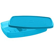Get Signoraware Slim Plastic Lunch Box, T Blue at Rs 118 | Amazon Offer