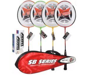 Get Silver's SB – 719 Badminton Kit Combo 1   or Combo 2   681   at Rs 426 | Flipkart Offer