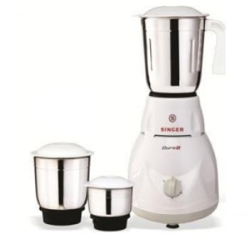 Get Singer Duro Plus 500-Watt Mixer Grinder with 3 Jars at Rs 1599   Amazon Offer