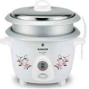 Get Singer Rice Cuisine 1.8 OL Electric Rice Cooker with Steaming Feature (1.8 L, White) at Rs 1699