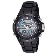 Get SKMEI Analog-Digital Dial Mens Watch-AD1016 (BLACK) at Rs 475 | Amazon Offer