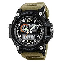Get Skmei Analog Digital Multifunction Premium Sports Watch at Rs 989 | Amazon Offer