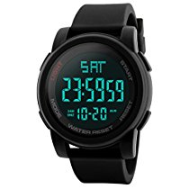 Get Skmei Digital Multi-functional Black Outdoor Sports Watch for Men at Rs 829 | Amazon Offer