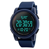 Get Skmei Digital Multi-functional Blue Outdoor Sports Watch for Men at Rs 829 | Amazon Offer