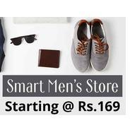 Get Smart Men Store Start Rs.169 at Rs 169 | Shopclues Offer