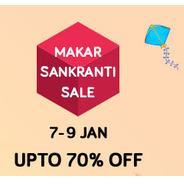 Get Snapdeal Makar Sankranti Sale - Upto 70% OFF | Snapdeal Offer