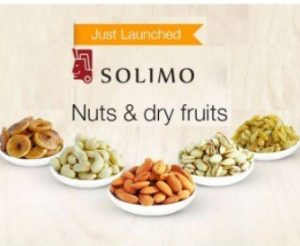 Get Solimo Nuts & Dry Fruits Min 21% off   at Rs 110 | Amazon Offer
