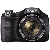 Get Sony Cyber-shot DSC-H300/BC E32 point & Shoot Digital camera (Black)35x optical zoom with Power