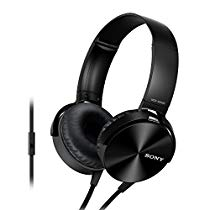 Get Sony Extra Bass MDR-XB450AP On-Ear Headphones with Mic at Rs 1749 | Amazon Offer