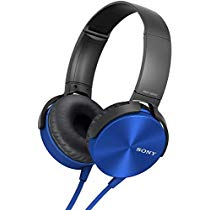 Get Sony MDR-XB450 On-Ear EXTRA BASS Headphones (Blue) at Rs 1549 | Amazon Offer