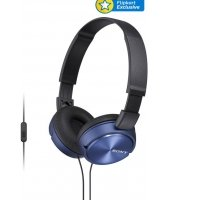 Get Sony MDR-ZX310APL Wired Headset With Mic (Blue) at Rs 999 | Flipkart Offer