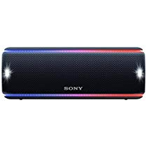 Get Sony SRS-XB31 Extra Bass Portable Waterproof Wireless Speaker with Bluetooth and NFC (Black) at
