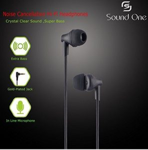 Get Sound One 616-P In Ear Earphones with MIC      at Rs 449 | Amazon Offer