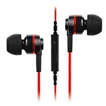 Get Soundmagic ES18S In-Ear Headphone With Mic (Black/Red) at Rs 599 | Amazon Offer