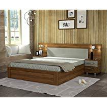 Get Spacewood Vogue King Size Bed at Rs 33999 | Amazon Offer