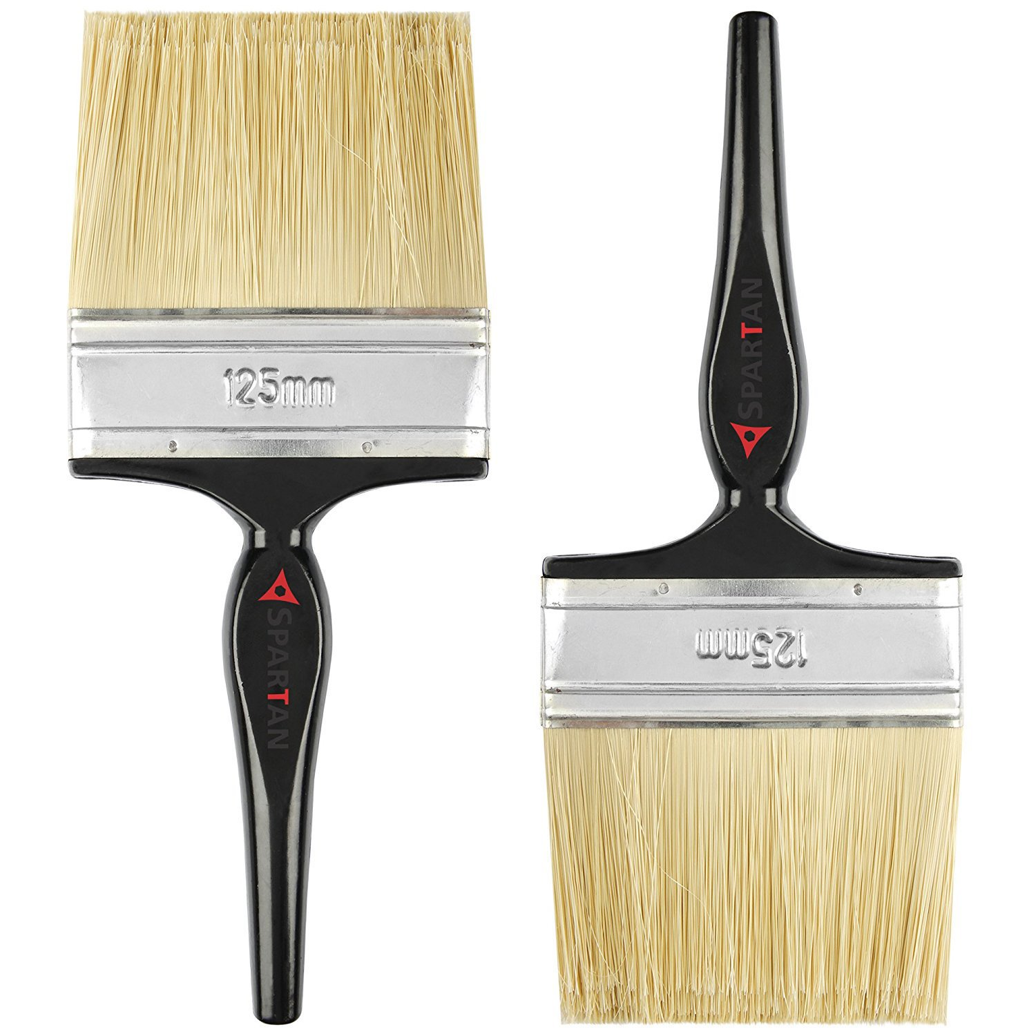 Get Spartan Paint Brush with Multicolour Handle set of 2 ( 125 MM) at Rs 279   Amazon Offer