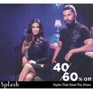 Get Splash Clothings Flat 40%-60% OFF - Starts Rs.199 | Myntra Offer