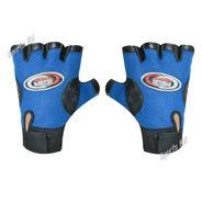 Get Sports 101 Polo Fit Leather Fitness Gloves, Free Size (Blue) at Rs 117 | Amazon Offer