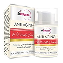 Get St.Botanica AntiAging & Wrinkle Cream 50ml (With CoQ10 Hya at Rs 649 | Amazon Offer