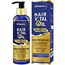 Get St.Botanica Hair Vital Oil (With Olive Castor Almond Joj at Rs 649 | Amazon Offer