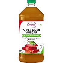 Get St.Botanica Natural Apple Cider Vinegar with Mother Vinegar – 500 ml – Raw, Unfiltered, UnRe