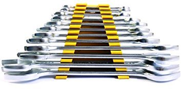 Get Stanley 70-380E Matte Finish Double Open End Spanner Set, 12-Pieces at Rs 499 | Amazon Offer