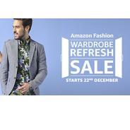 Get Start on 22nd Dec. - Amazon Fashion Wardrobe Refresh Sale   Amazon Offer