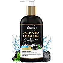 Get StBotanica Activated Charcoal Hair Conditioner 300ml Deepl at Rs 399 | Amazon Offer