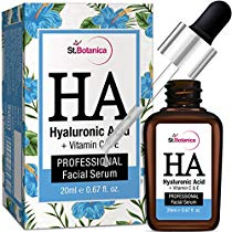 Get StBotanica Hyaluronic Acid Facial Serum Vitamin C E Under at Rs 1199   Amazon Offer