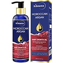 Get StBotanica Moroccan Argan Hair Growth Oil With Jojoba Almon at Rs 649 | Amazon Offer