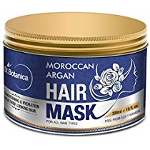 Get StBotanica Moroccan Argan Hair Mask Deep Conditioner 100% Organic at Rs 799 | Amazon Offer