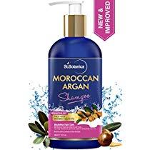 Get StBotanica Moroccan Argan Hair Shampoo 300ml No SLS Parab at Rs 589 | Amazon Offer
