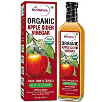 Get StBotanica USDA Organic Apple Cider Vinegar With The Mother at Rs 425 | Amazon Offer