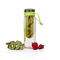 Get Steelo Plastic Fruit Infuser Bottle, 750ml, Green at Rs 152   Amazon Offer