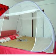 Get Story@Home Polyester Blue Double Bed Foldable Mosquito Net at Rs 649 | Pepperfry Offer