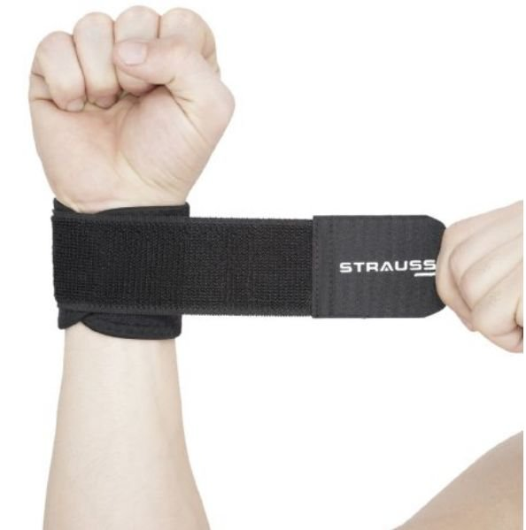 Get Strauss Wrist Support, Free Size    at Rs 118   Amazon Offer