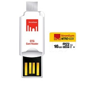 Get Strontium 16 GB Nitro Class 10 micro SD with OTG Card Reader at Rs 569 | TataCliq Offer