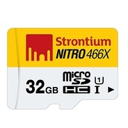 Get Strontium Nitro 32GB Class 10 UHS-1 MicroSDHC Memory Card without Adapter at Rs 629   Amazon Off