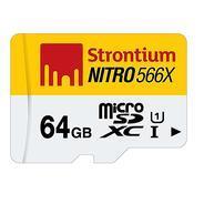 Get Strontium Nitro 64GB 85MB/s UHS-1 Class 10 MicroSDXC Memory Card (SRN64GTFU1R) at Rs 1199 | Amaz