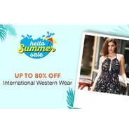 Get Summer Sale - International Western Wear Upto 80% OFF + Extra Cashback | paytmmall Offer