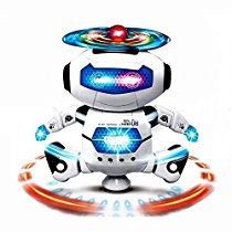 Get Sunshine Dancing Robot with 3D Lights and Music Multi Col at Rs 413 | Amazon Offer