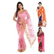 Get Super Deal Saree By Palkhe Pick Any 1 at Rs 999 | homeshop18 Offer