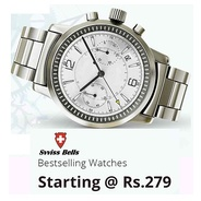 Get Svviss Bells Watches Start Rs.279 at Rs 279   Shopclues Offer