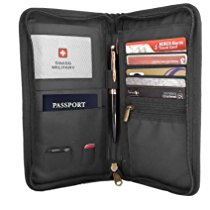 Get Swiss Military Black Travel Wallet (TW4) at Rs 667 | Amazon Offer