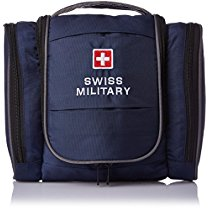 Get Swiss Military Polyester Blue Toiletry Bag (TB-3) at Rs 725 | Amazon Offer