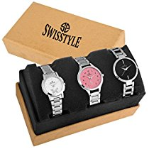 Get Swisstyle Analog Combo Watch for Women -SS-3CMB-01 at Rs 679 | Amazon Offer