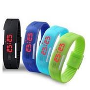 Get Swisstyle Assorted Unisex Silicone Led Band(1 pc) at Rs 29 | paytmmall Offer