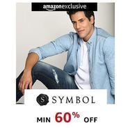 Get Symbol Mens Clothing Minimum 60% OFF | Amazon Offer